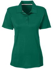 New Castle Chrysler High School Trojans Team 365 Ladies Solid Performance Polo