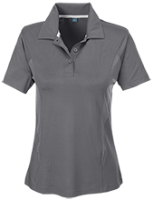 Barcelona Elementary School Bobcats Team 365 Ladies Solid Performance Polo