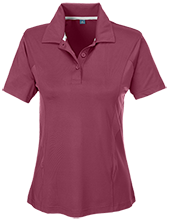 Bluffview Elementary School Tigers Team 365 Ladies Solid Performance Polo