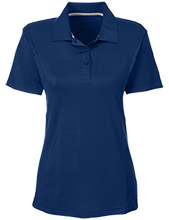 Crossroads Christian School Cougars Team 365 Ladies Solid Performance Polo