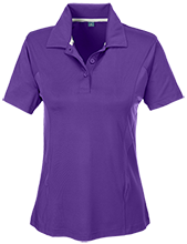 Amelia Earhart School Eagles Team 365 Ladies Solid Performance Polo