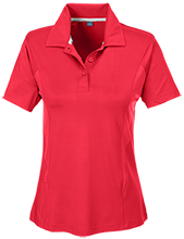 Bacon County Elementary School Eagles Team 365 Ladies Solid Performance Polo