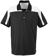 Lake Placid Elementary School Dragons Team 365 Colorblock Polo