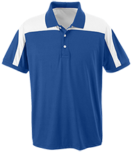 Miami East Elementary School Vikings Team 365 Colorblock Polo