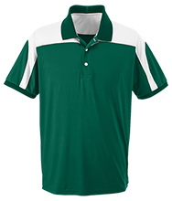 Alpena High School Wildcats Team 365 Colorblock Polo