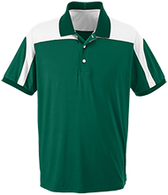 Richland Christian School School Team 365 Colorblock Polo