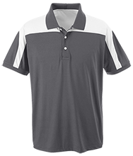Discovery Charter School Warriors Team 365 Colorblock Polo