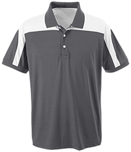 Longview School School Team 365 Colorblock Polo