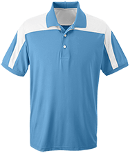 Lake City Elementary School Wildcats Team 365 Colorblock Polo