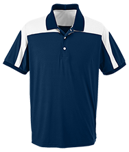 Flatehad Valley Christian School Cougars Team 365 Colorblock Polo