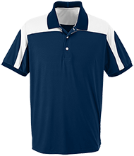 Horse Creek Elementary School Eagles Team 365 Colorblock Polo