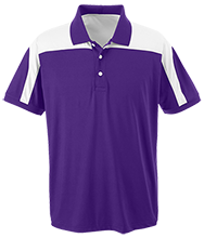 Blue Springs High School Wildcats Team 365 Colorblock Polo