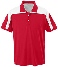 Western Elementary School Mustangs Team 365 Colorblock Polo