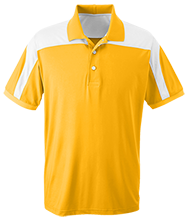 Sunshine Elementary School Of Technology Indians Team 365 Colorblock Polo