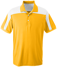Milner Crest Elementary School Cougars Team 365 Colorblock Polo