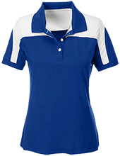 Center For Creative Education Charter School Team 365 Ladies Colorblock Polo