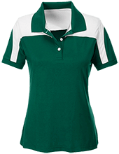Fillmore High School Eagles Team 365 Ladies Colorblock Polo
