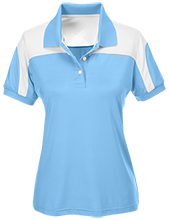 West Nodaway R-1 High School Rockets Team 365 Ladies Colorblock Polo