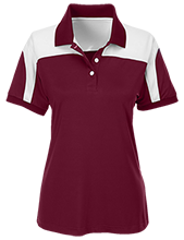 Chippewa Middle School-Okemos Chiefs Team 365 Ladies Colorblock Polo