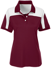 Shepherd Of The Valley Lutheran Team 365 Ladies Colorblock Polo