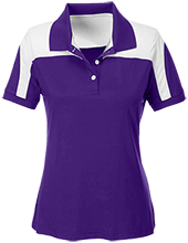 Trinity Christian High School Crusaders Team 365 Ladies Colorblock Polo