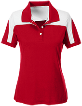 McAdams Early Childhood Center School Team 365 Ladies Colorblock Polo