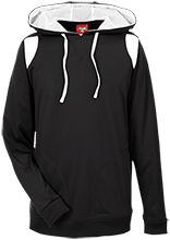 Laneville High School Yellowjackets Team 365 Colorblock Poly Hoodie