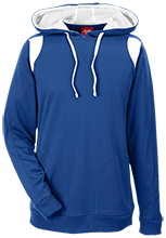 Shore Regional High School Blue Devils Team 365 Colorblock Poly Hoodie