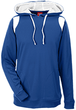 Farms Middle School Eagles Team 365 Colorblock Poly Hoodie
