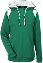 Downing School Lions Team 365 Colorblock Poly Hoodie