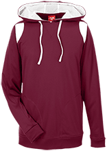 Shepherd Of The Valley Lutheran Team 365 Colorblock Poly Hoodie