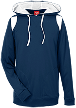 Bennett Woods Elementary School Trailblazers Team 365 Colorblock Poly Hoodie