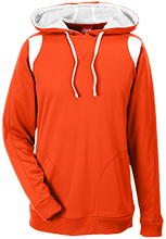 John Simpson Middle School Tygers Team 365 Colorblock Poly Hoodie