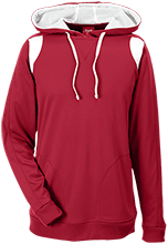 Meskwaki High School Warriors Team 365 Colorblock Poly Hoodie