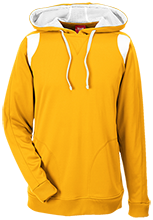 Milwaukie High School Mustangs Team 365 Colorblock Poly Hoodie