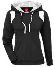 Team 365 Ladies Colorblock Poly Hoodie