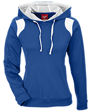 Lewiston Middle School Blue Demons Team 365 Ladies Colorblock Poly Hoodie
