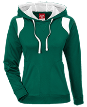 Eureka High School Vandals Team 365 Ladies Colorblock Poly Hoodie
