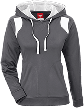 Lawrence West School Team 365 Ladies Colorblock Poly Hoodie