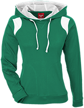 Moffat Consolidated School District #2 Cowboys Team 365 Ladies Colorblock Poly Hoodie