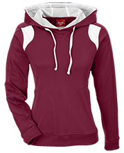 Brookland-Cayce High School Bearcats Team 365 Ladies' Colorblock Poly Hoodie