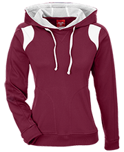 Shepherd Of The Valley Lutheran Team 365 Ladies Colorblock Poly Hoodie