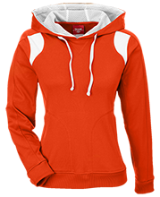 South View Middle School Bobcats Team 365 Ladies Colorblock Poly Hoodie
