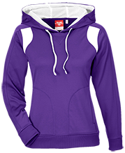 Watertown High School Cyclones Team 365 Ladies Colorblock Poly Hoodie