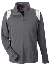 YMCA School Team 365 Performance Colorblock 1/4 Zip
