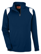 Notre Dame Academy--Hingham Cougars Team 365 Performance Colorblock 1/4 Zip