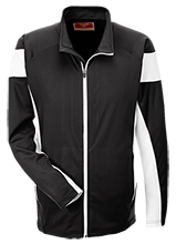 Topeka High School Trojans Team 365 Performance Colorblock Full Zip