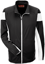 Unity Thunder Football Team 365 Performance Colorblock Full Zip