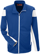 West Springfield Middle School Junior Terriers Team 365 Performance Colorblock Full Zip