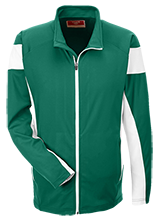 Haynor School Hawks Team 365 Performance Colorblock Full Zip
